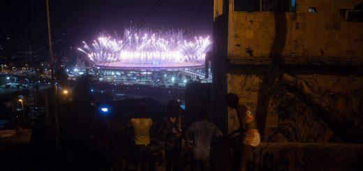Ouverture des Jeux Olympiques à Rio de Janeiro - 05-08-2016, Morro da Mangueira - Photo: R.U.A Foto Coletivo/Tércio Teixeira