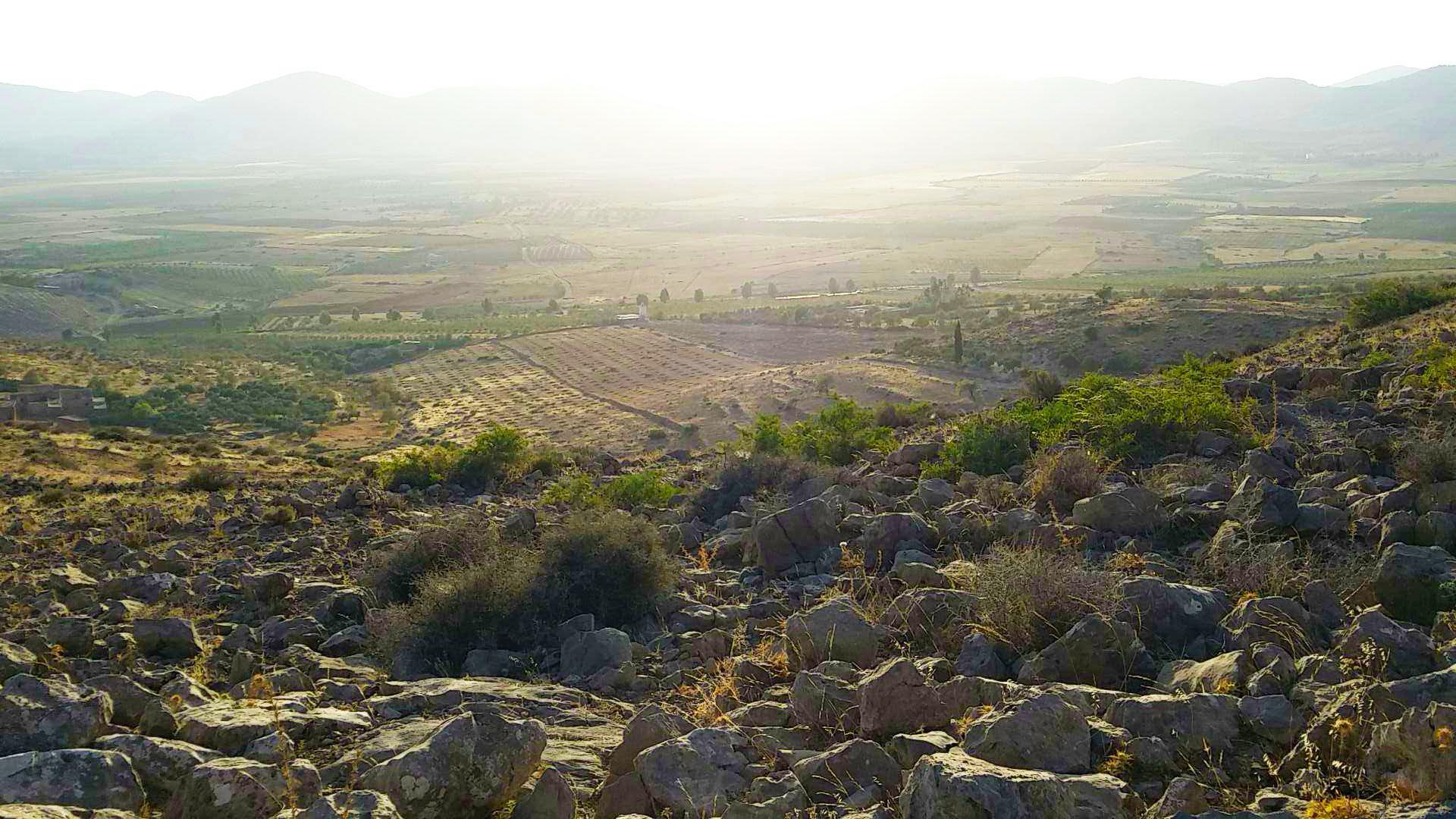 Sidi Bouhouria, sublime panorama avec les plaines d'Angad.