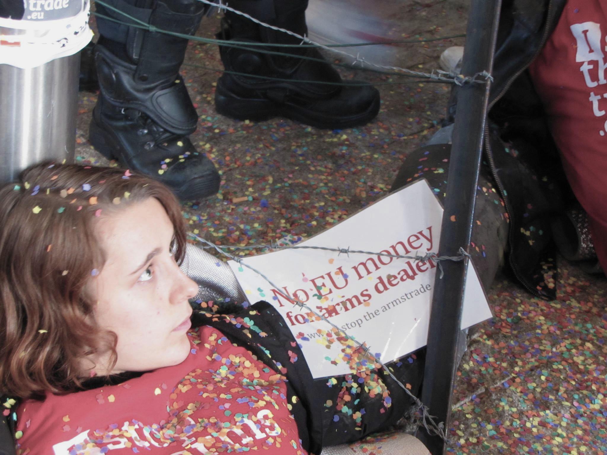 A la manifestation du 10 novembre / © S. Christensen