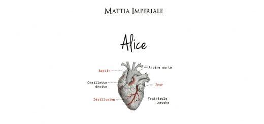"""Alice"", le livre de Mattia Imperiale"
