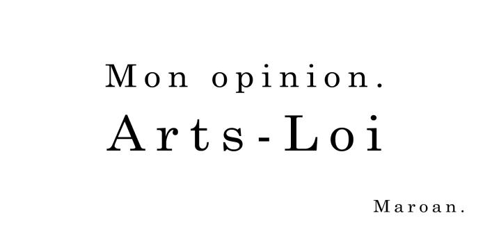 Arts-Loi