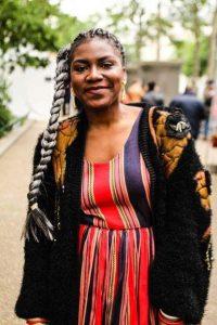 Michèle Lejeune, fondatrice de la marque Mbombo.