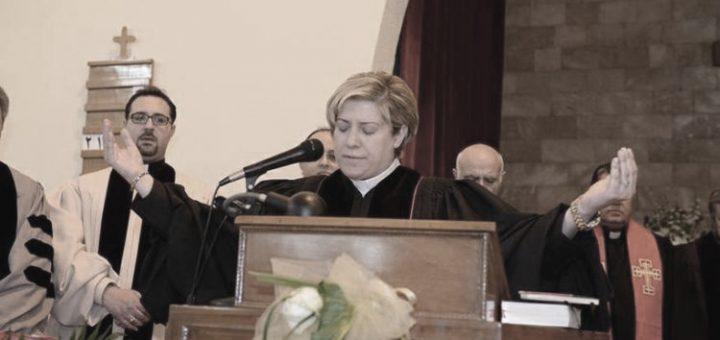 Rola Sleiman, première femme pasteur au Moyen-Orient.