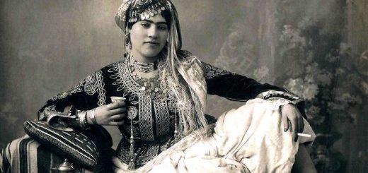 Représentation d'une mauresque / 1890