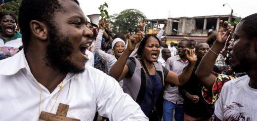 RDC, manifestations.