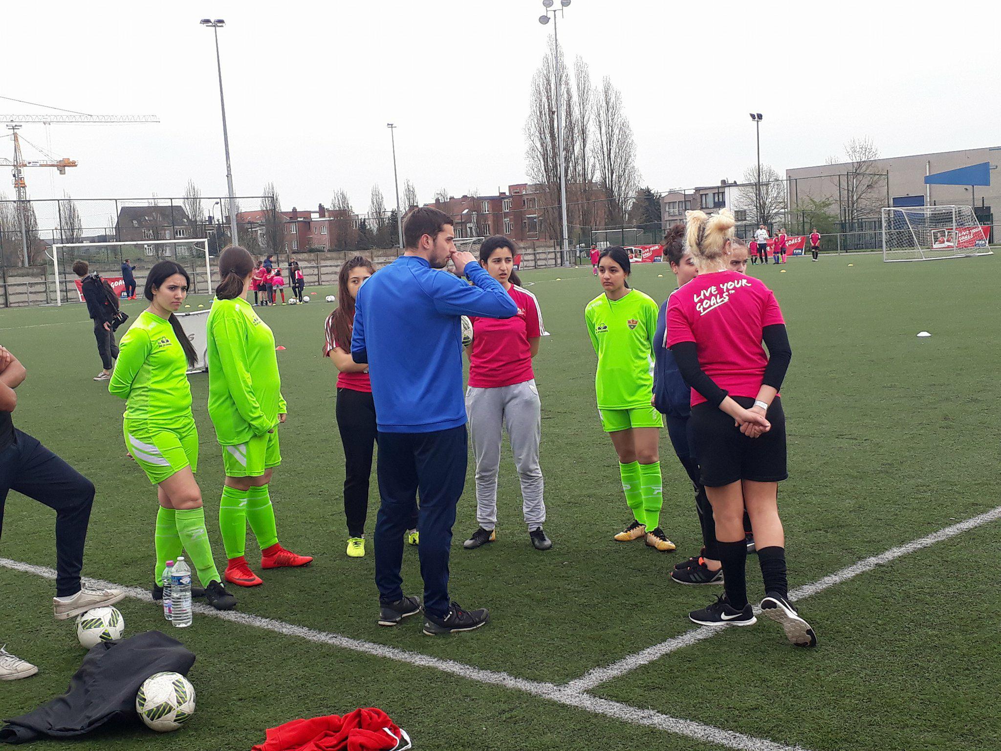 Foot féminin en Belgique