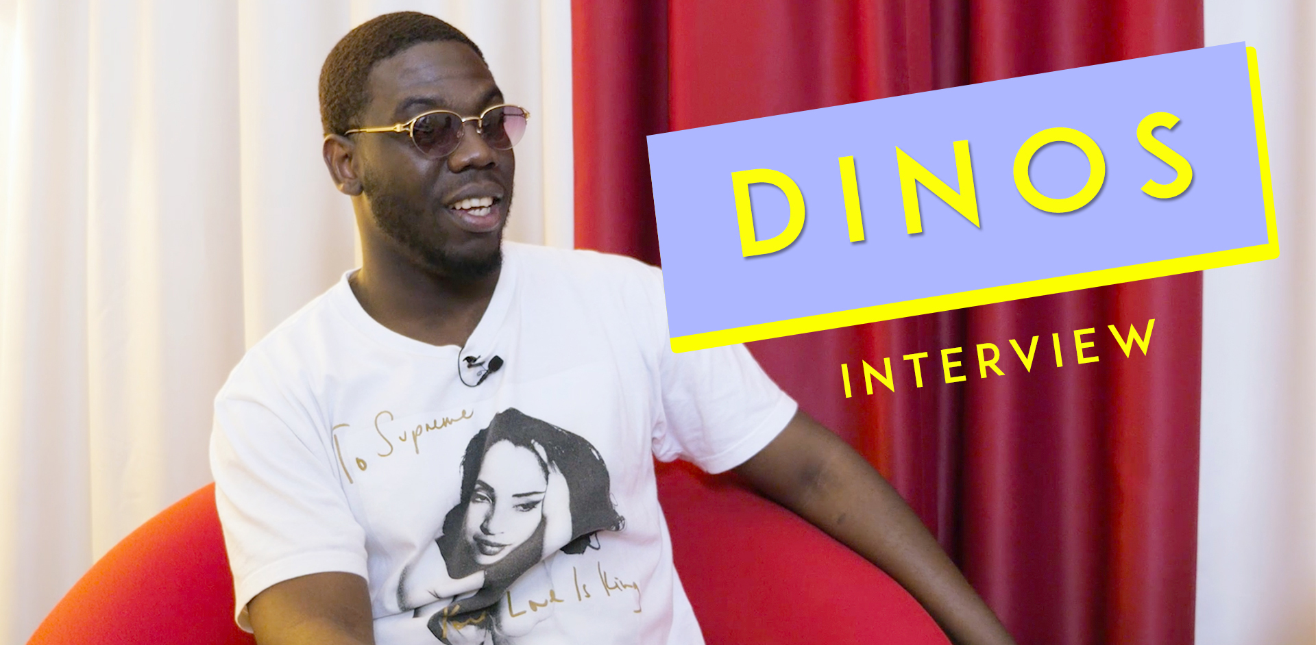 Dinos, interview Imany.