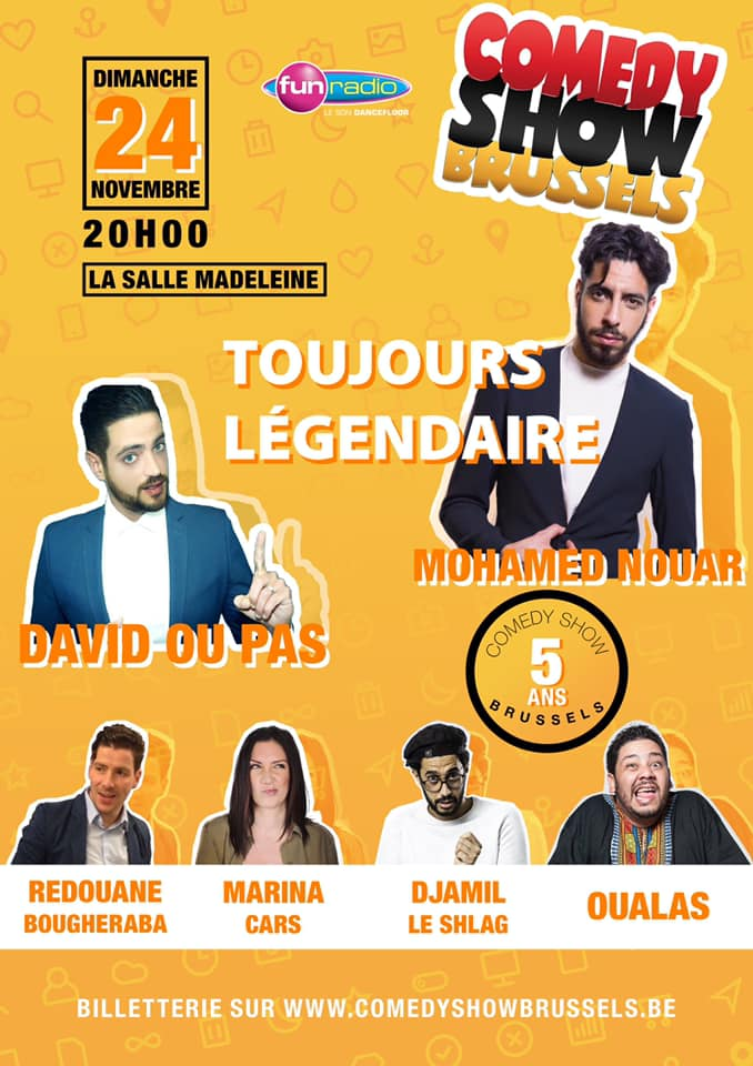 Comedy Show Brussels